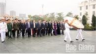 Dâng hương tưởng niệm các Anh hùng liệt sĩ nhân Tết Canh Tý 2020