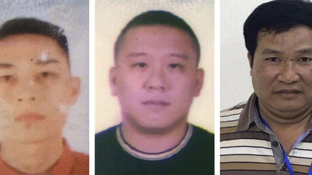 Bắt tạm giam, bị can, liên quan vụ Nhật Cường, Phạm Văn Hiệp, Nguyễn Bảo Trung, Mai Tiến Dũng