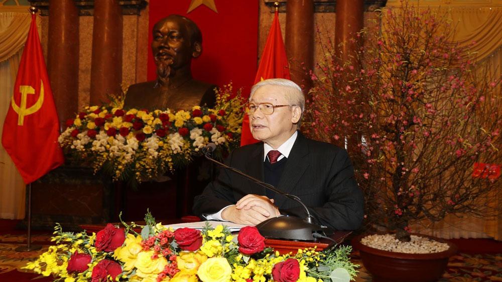 Tổng Bí thư, Chủ tịch nước Nguyễn Phú Trọng, Đánh thức, tiềm năng, nguồn lực, xây dựng, bảo vệ đất nước