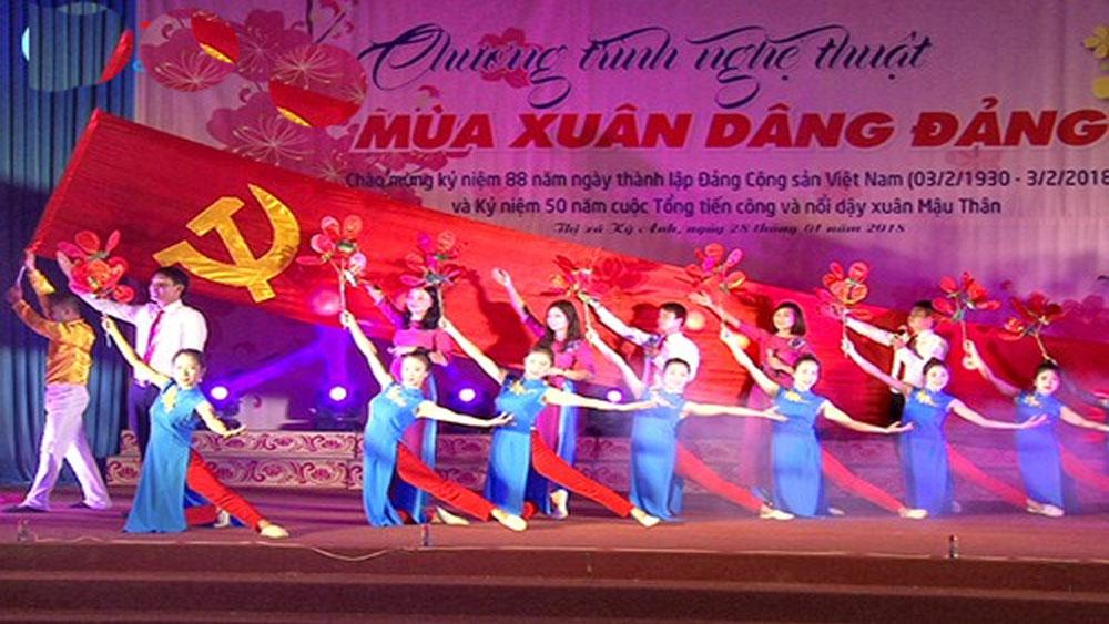 Chương trình, Mùa xuân dâng Đảng, diễn ra tại Hà Nội