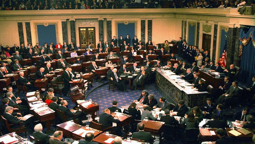 Mỹ, nghị sĩ, tranh luận , phiên luận tội Tổng thống Mỹ, Thượng viện