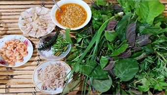 'Goi la': An interesting twist on the 'spring roll' in Kon Tum Province