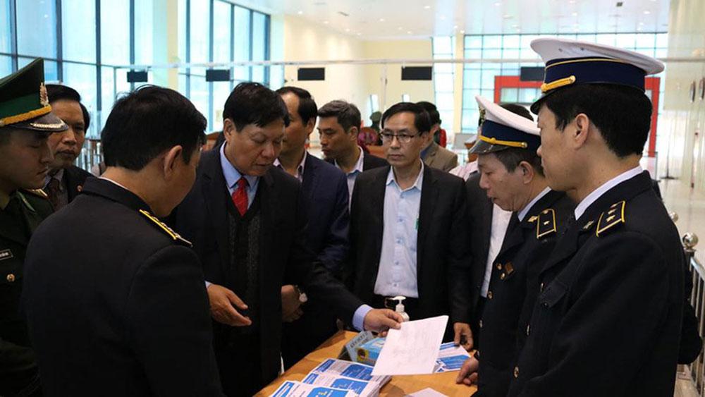 Bộ Y tế, kiểm tra, công tác phòng chống viêm đường hô hấp cấp do nCoV, Lạng Sơn