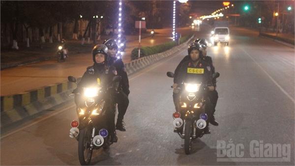 Công an Bắc Giang huy động tối đa lực lượng bảo đảm an toàn cho người dân vui đón Tết