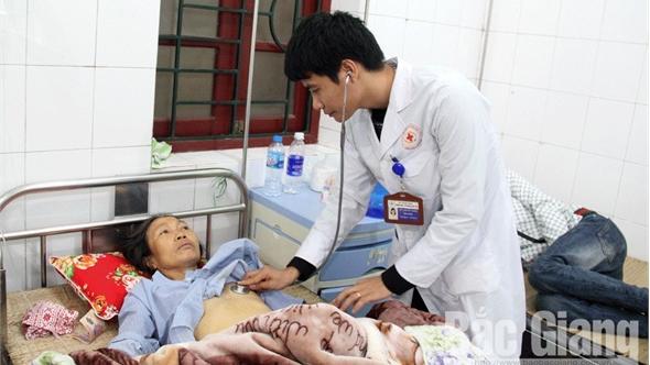 Đến tối 30 Tết, toàn tỉnh có gần 1 nghìn bệnh nhân ở lại điều trị nội trú