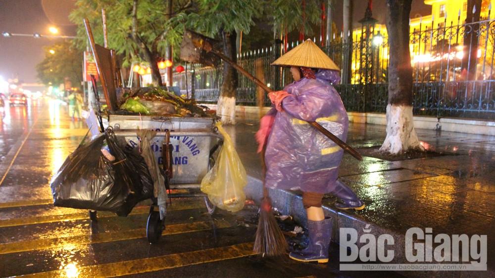 Bắc Giang, giao thừa, mưa nặng hạt, thiêng liêng giao thừa