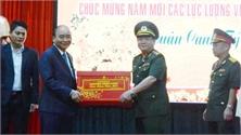 Thủ tướng Chính phủ Nguyễn Xuân Phúc chúc Tết các đơn vị tại Đà Nẵng