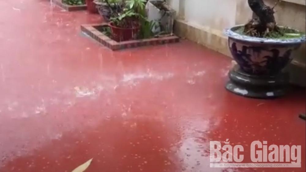 mưa đá, thời tiết, Bắc Giang, mùng 1 Tết