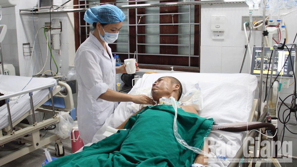 cấp cứu, Tết, bệnh viện, giao thừa, Bắc Giang