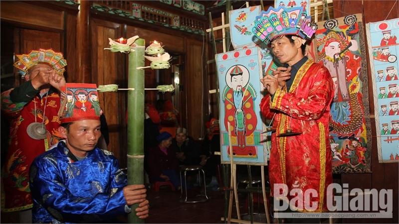 Độc đáo lễ cấp sắc của dân tộc Dao ở Tuấn Mậu (Bắc Giang)