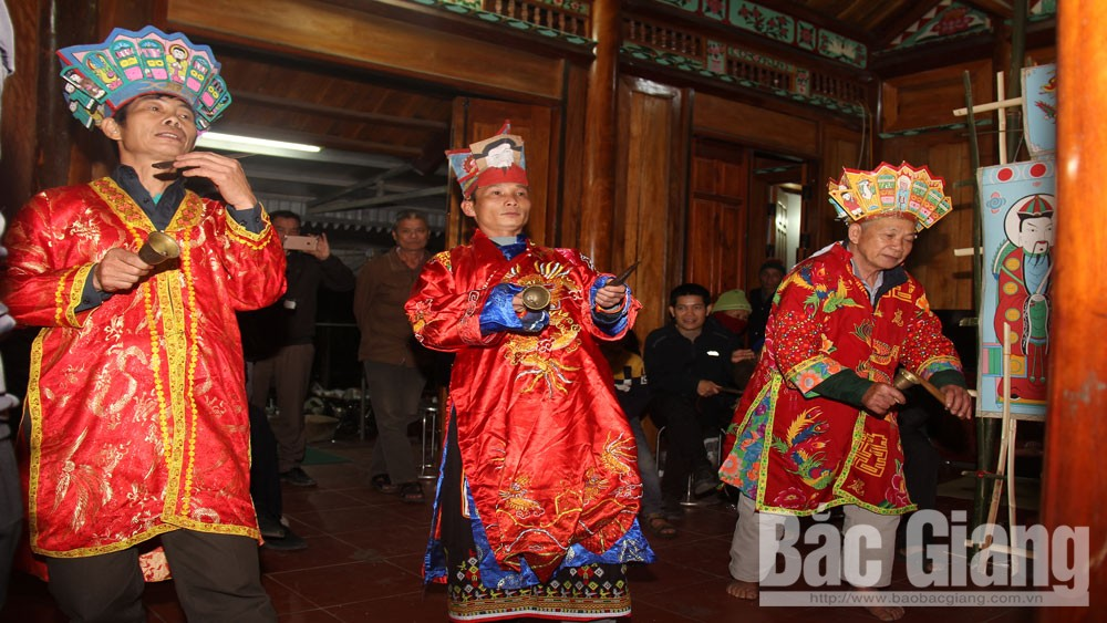 cấp sắc, dân tộc Dao, Tuấn Mậu, Sơn Động, Bắc Giang