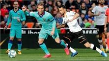 Barca thua trắng Valencia