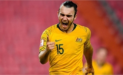 Đánh bại Uzbekistan, U23 Australia trở lại Olympic sau 12 năm