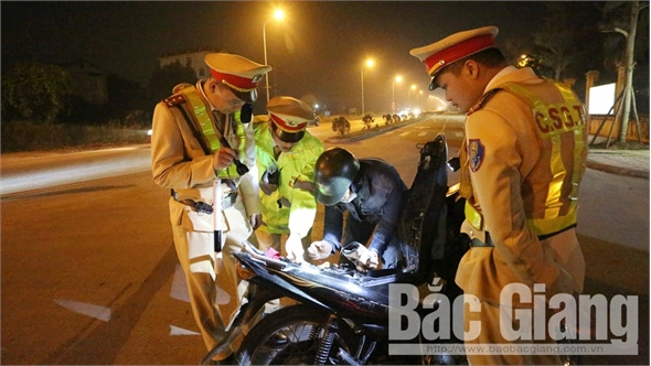 Bắc Giang sau 3 ngày nghỉ Tết Nguyên đán: Không xảy ra phạm pháp hình sự, tai nạn giao thông nghiêm trọng