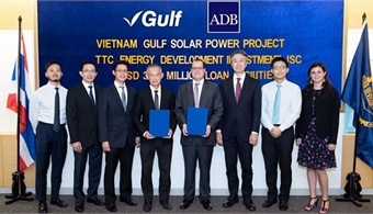 ADB provides loan for 50MW solar power plant in Tay Ninh