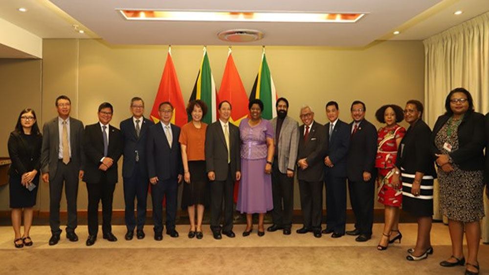 South Africa, Vietnam, leading partners, S.E Asia, bilateral ties, people-to-people exchange