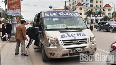 Vận chuyển hành khách dịp Tết ở Bắc Giang: Không xảy ra ùn tắc, lượng khách nội tỉnh tăng khoảng 20%