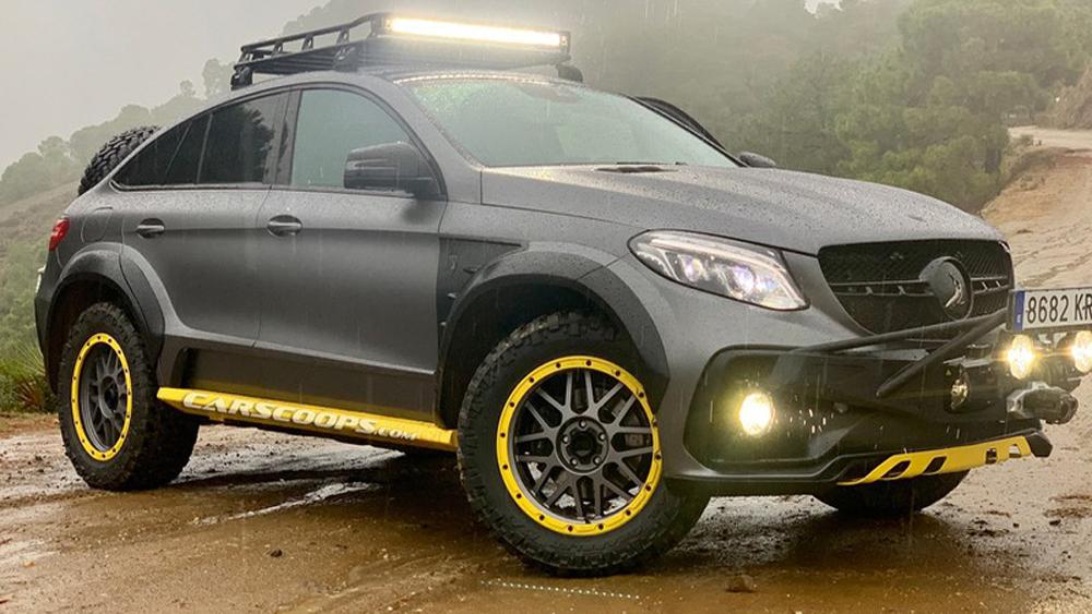 Khám phá, Mercedes GLE Safari, độc nhất trên thế giới, độc nhất, trên thế giới