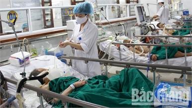 Dịp nghỉ Tết, số ca nhập viện do tai nạn giao thông ở Bắc Giang giảm 40%