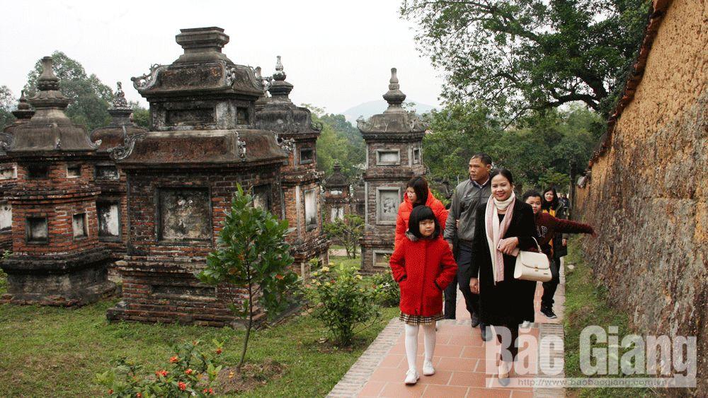 Việt yên, tuần văn hóa du lịch, chùa bổ đà, mộc bản chùa Bổ Đà