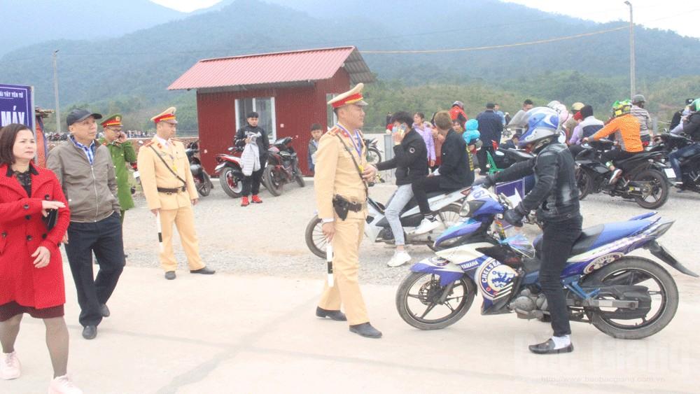 Công an Sơn Động chủ động phương án bảo đảm an toàn tuyệt đối Lễ hội xuân Tây Yên Tử