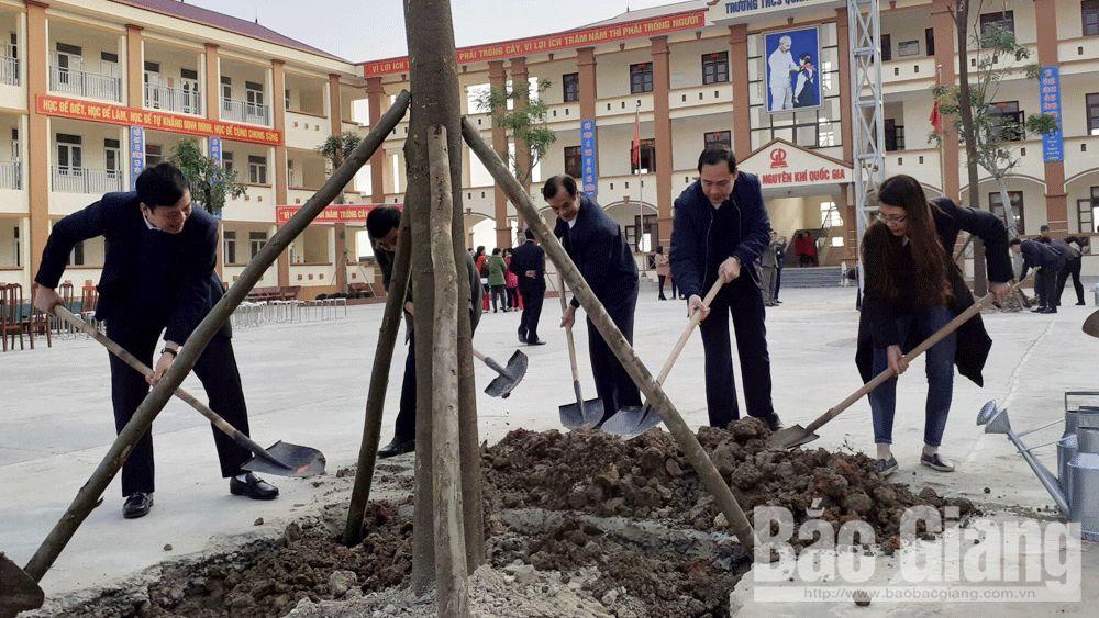 Việt yên, tết trồng cây, phát động