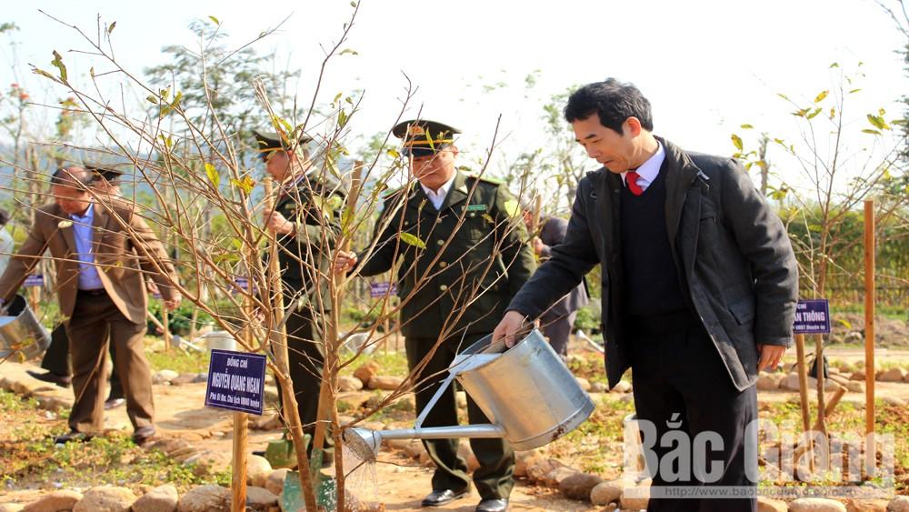 Sơn Động: Phát động Tết trồng cây tại Khu du lịch tâm linh - sinh thái Tây Yên Tử