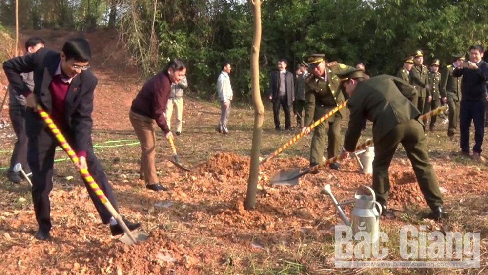"""Yên Thế phát động Tết trồng cây """"Đời đời nhớ ơn Bác Hồ"""" xuân Canh Tý 2020"""
