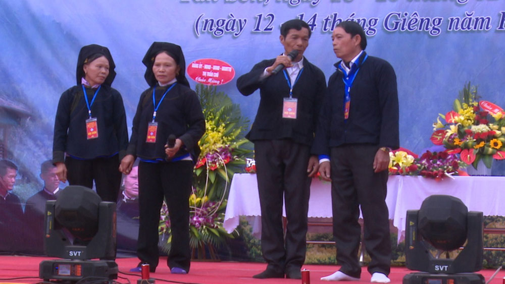 New features, Sloong hao, singing festival, Luc Ngan district, Bac Giang province, long-standing unique cultural feature