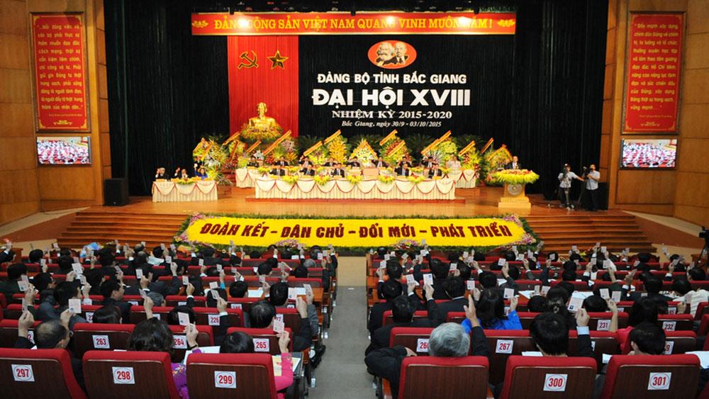 Những chặng đường vẻ vang  của Đảng bộ tỉnh Bắc Giang