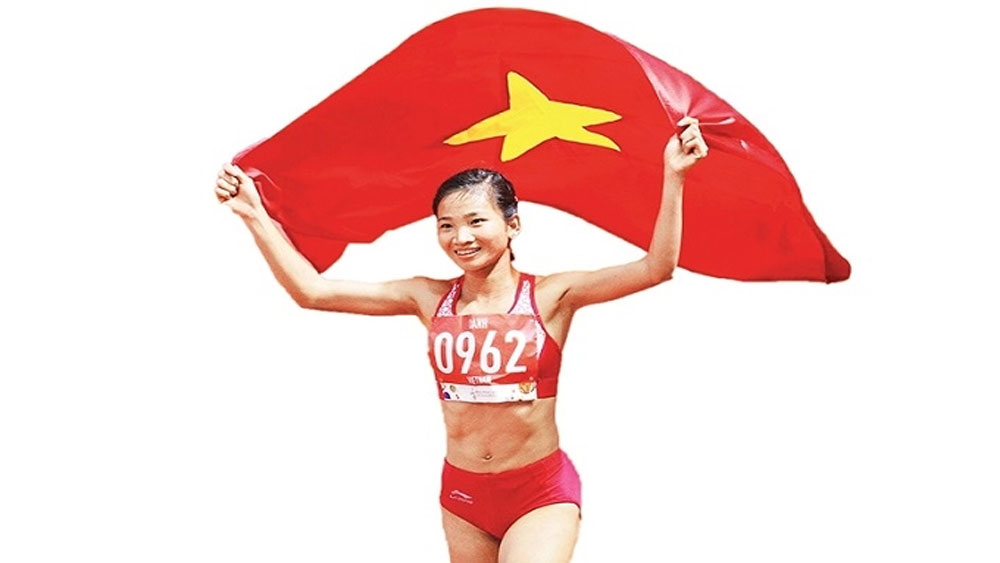 A resilient girl of Vietnamese athletics