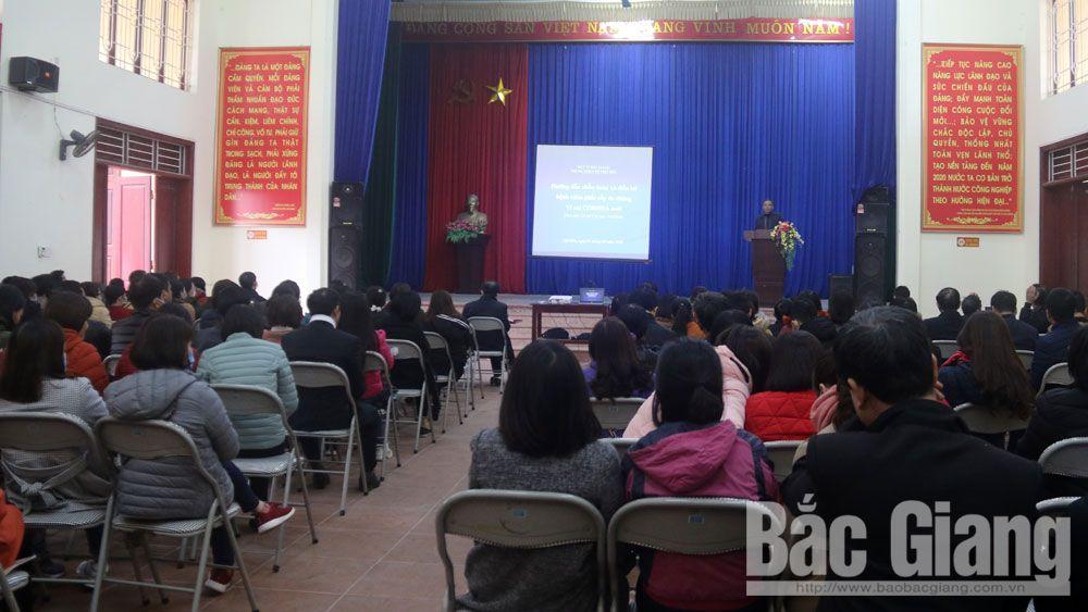 Việt yên, corona, trung tâm y tế