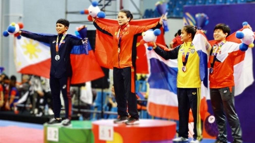Vietnamese wrestlers target Tokyo Olympics spots