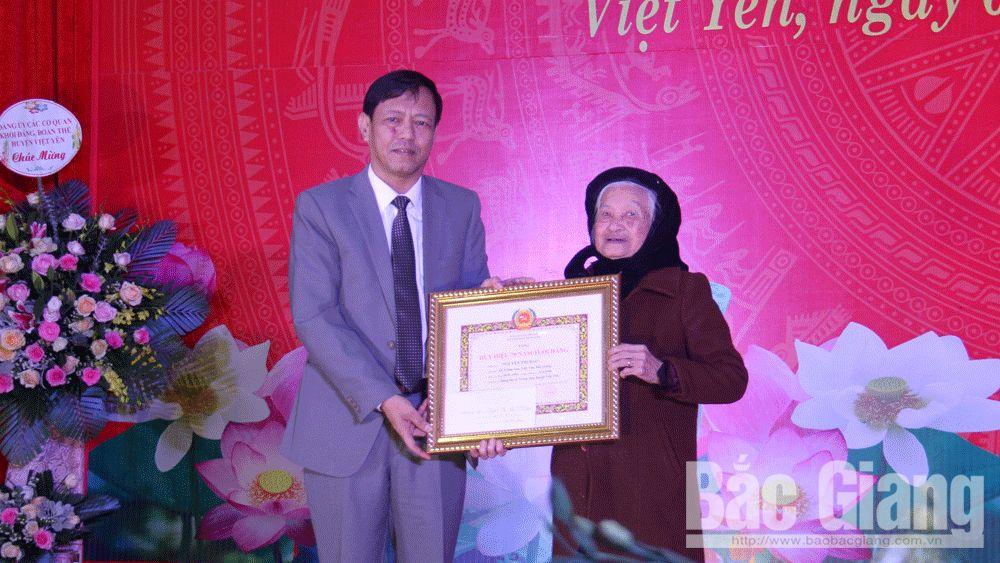 Huyện ủy Việt Yên kỷ niệm 90 năm Ngày thành lập Đảng Cộng sản Việt Nam