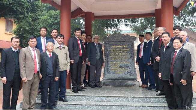 Xã Hoàng Vân kỷ niệm 90 năm Ngày thành lập Đảng và 80 năm Ngày thành lập Chi bộ Hoàng Vân