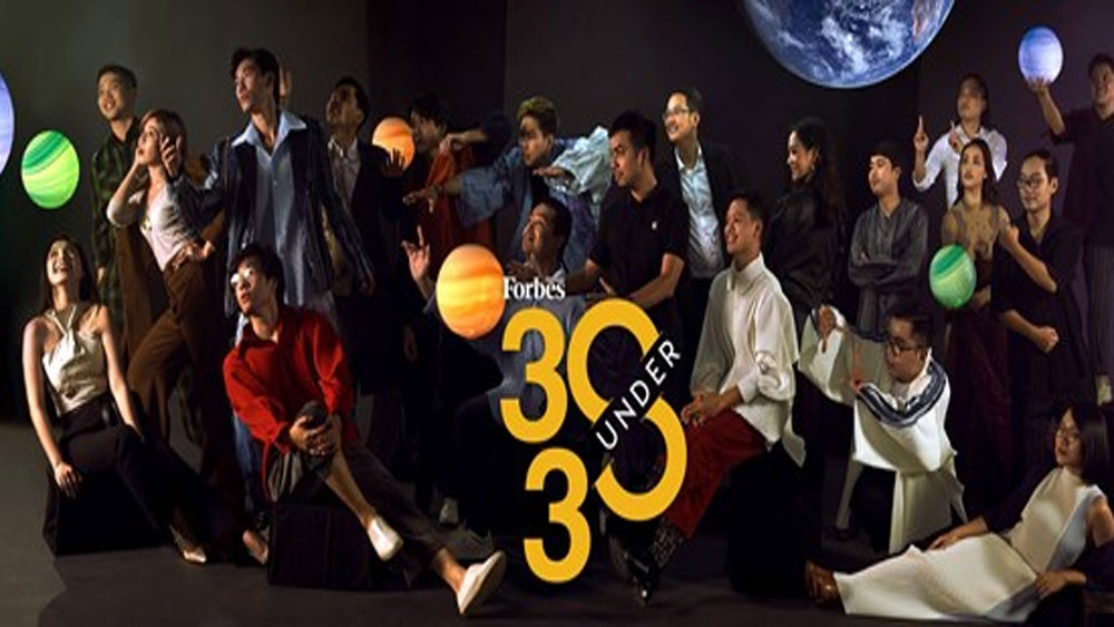 Forbes Vietnam, 30 Under 30 list, Forbes Vietnam magazine, most influential faces,  young people, significant contributions
