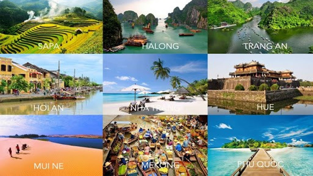 Vietnam, fastest growing travel destinations, foreign tourists, ranking list,  year-on-year increase, tourism hotspots