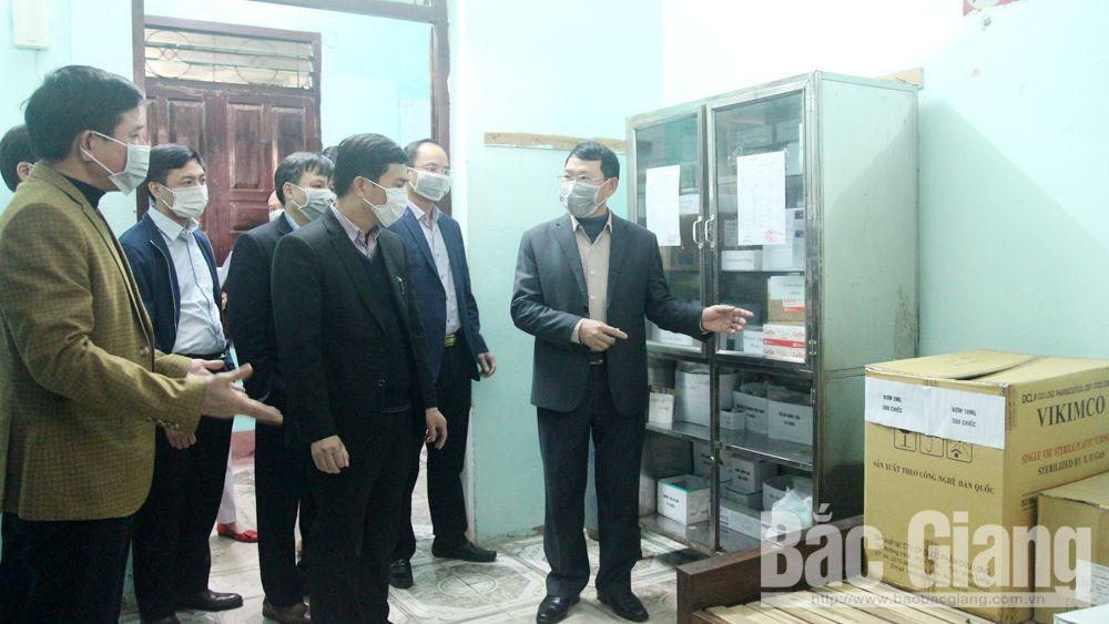 Yêu cầu huyện Lạng Giang thực hiện nghiêm cơ chế giám sát, cách ly nguồn có nguy cơ lây bệnh cao
