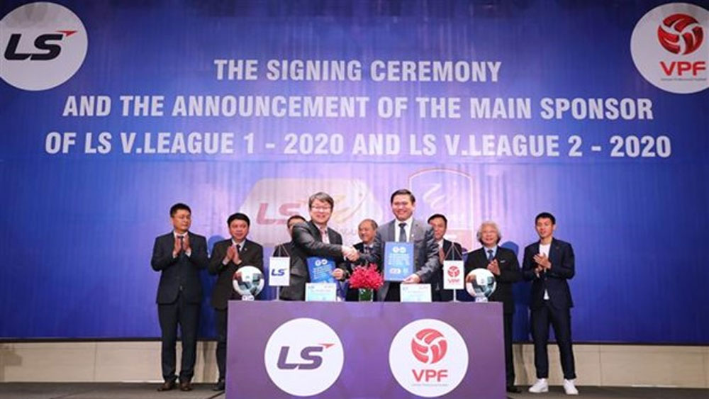 LS Holdings, new sponsor, pro football leagues, national men's football team, 2020 national football cup