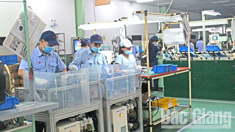 Bac Giang gives priority to supporting industries in FDI attraction