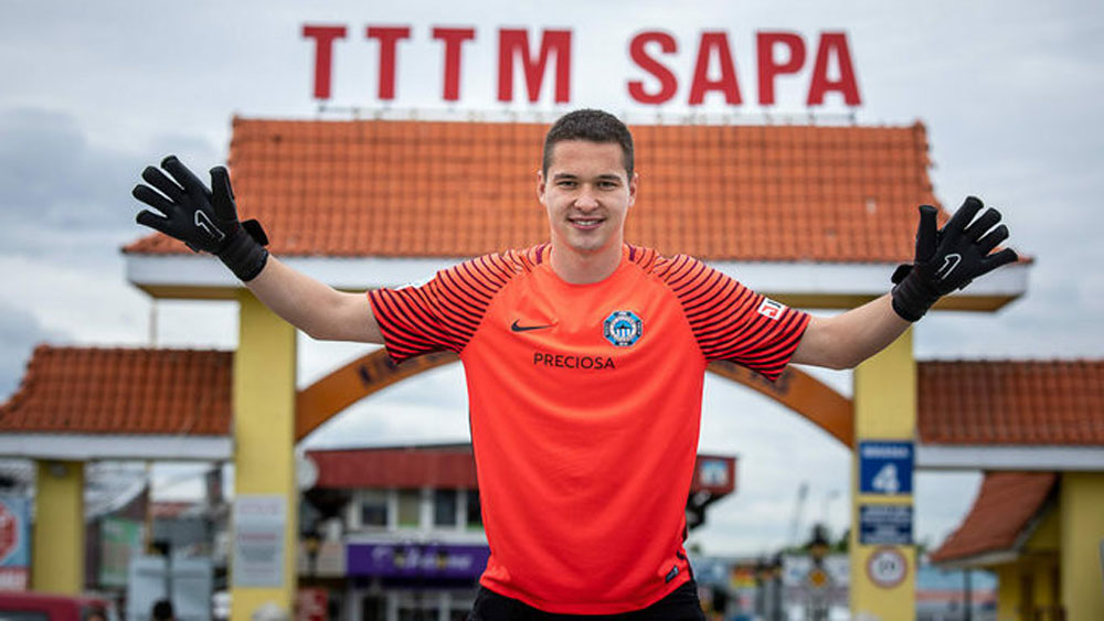 Vietnamese-Czech goalkeeper close to acquiring citizenship