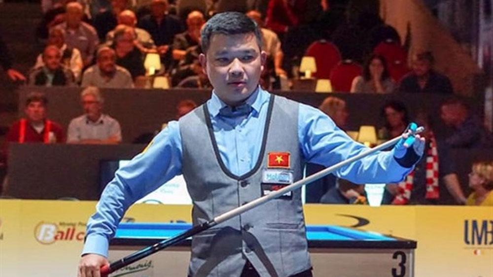 Vietnamese cueists take part in Antalya World Cup