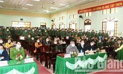 70% tân binh của huyện Sơn Động là người dân tộc thiểu số