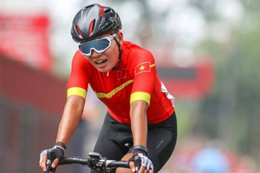 Vietnamese cyclists, Asian championship, Asian Road Cycling Championships, men's and women's categories, Asian champion, Nguyen Thi That