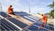 100 customers install rooftop solar power system for living demand