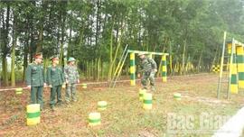 Lực lượng vũ trang tỉnh Bắc Giang vào mùa huấn luyện: Tập trung vào khâu yếu