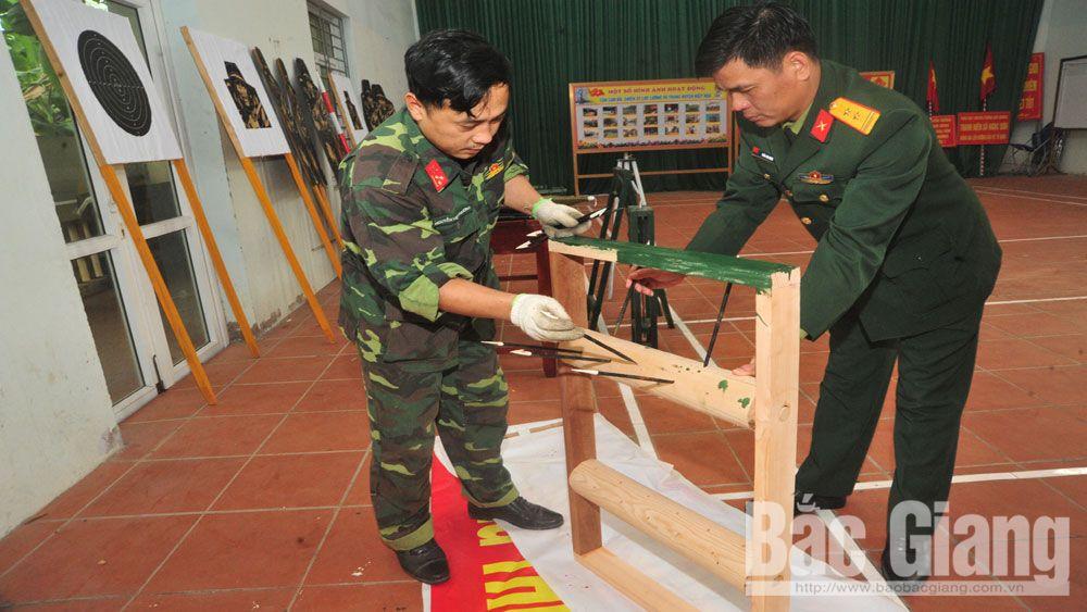 tân binh, huấn luyện, Bắc  Giang, chiến sĩ,