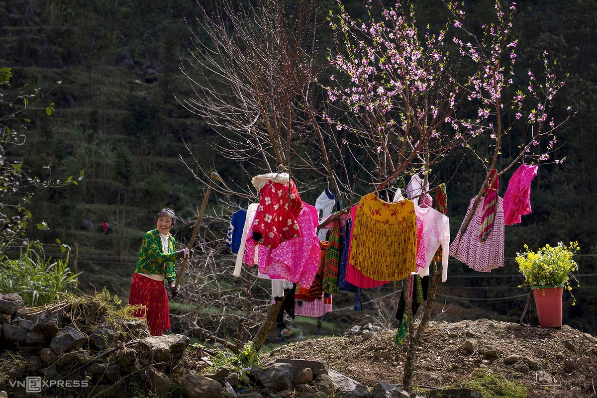 Du lịch, Điểm đến, Hà Giang, Mùa xuân, Cao nguyên đá, Hoa mận, Hoa đào, Người Mông, Vùng cao, Ảnh
