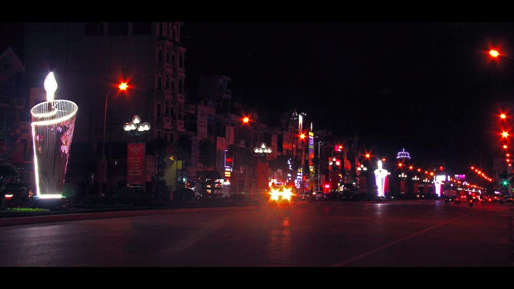 Đêm thành phố Bắc Giang