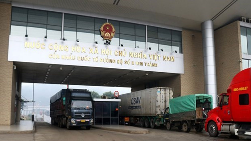 Over 6,500 tonnes of farm produce exported via Lao Cai border gate